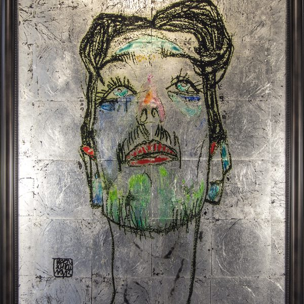 antique_mirror_EGON_SCHIELE_Mime_van_Osen_face_REVERSEGLASS